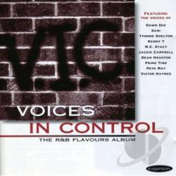 Voices in Control: The R&B Flavours Album CD Cover Art