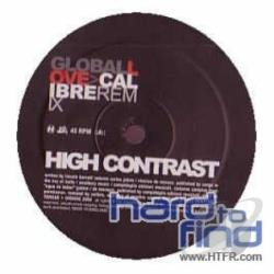Contrast, High - Global Love RMX LP Cover Art