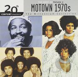 20th Century Masters - The Millennium Collection: Motown 1970s, Vol. 2 CD Cover Art