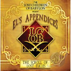 Babylon, Lost Children Of - El's Appendices: The Scroll of Lost Tales CD Cover Art