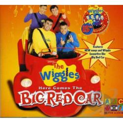 Wiggles - Here Comes The Big Red Car CD Cover Art
