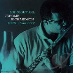 Richardson, Jerome - Midnight Oil CD Cover Art