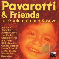 Pavarotti, Luciano - Pavarotti & Friends for the Children of Guatemala and Kosovo CD Cover Art