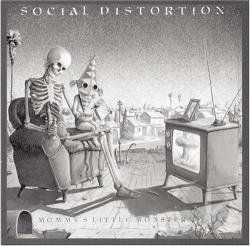 Social Distortion - Mommy's Little Monster CD Cover Art