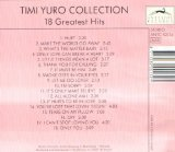 Yuro, Timi - 18 Greatest Hits CD Cover Art