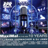 Rpr Maximal In The Mix: 10 Year CD Cover Art
