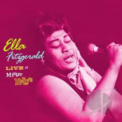 Fitzgerald, Ella - Live At Mister Kelly's CD Cover Art