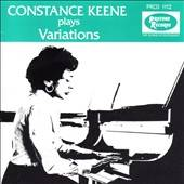 Keene, Constance - Constance Keene Plays Variations CD Cover Art