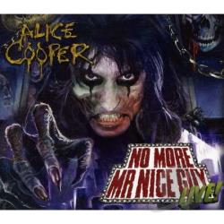 Cooper, Alice - No More Mr Nice Guy: Live CD Cover Art