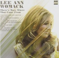 Womack, Lee Ann - There's More Where That Came From CD Cover Art