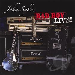 Sykes, John - Bad Boy Live CD Cover Art