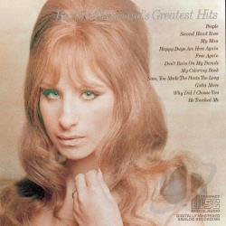 Streisand, Barbra - Barbra Streisand's Greatest Hits CD Cover Art