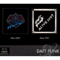 Daft Punk - Alive 2007/Alive 1997 CD Cover Art