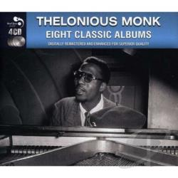 Monk, Thelonious - Eight Classic Albums CD Cover Art