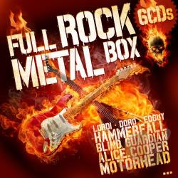 Full Rock & Metal Box: The Ultimate Collection CD Cover Art