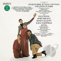 Jacques Brel Is Alive and Well and Living in Paris CD Cover Art