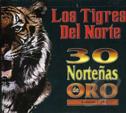 Los Tigres Del Norte - 30 Nortenas de Oro CD Cover Art