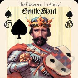 Gentle Giant - Power and the Glory CD Cover Art