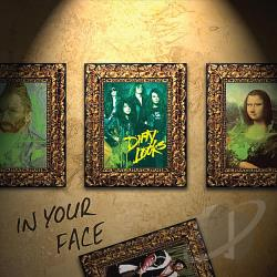 Dirty Looks - In Your Face CD Cover Art