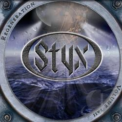 Styx - Regeneration, Vol. I & II CD Cover Art