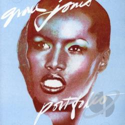 Jones, Grace - Portfolio CD Cover Art