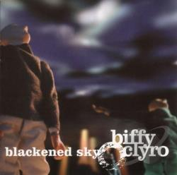 Biffy Clyro - Blackened Sky CD Cover Art