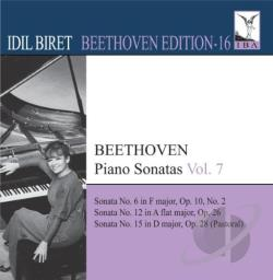 Beethoven / Biret - Beethoven: Piano Sonatas, Vol. 7 CD Cover Art