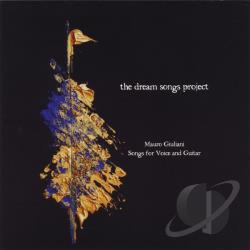Dream Songs Project - Mauro Giuliani: Songs For Voice & Guitar CD Cover Art