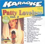 Loveless, Patty - Karaoke: Patty Loveless 2 CD Cover Art