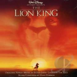 Lion King CD Cover Art