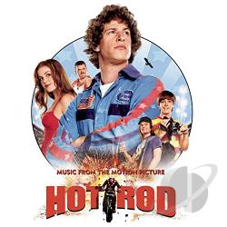 Hot Rod - Music From The Motion Picture CD Cover Art