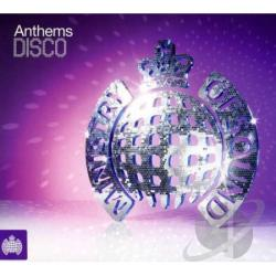 Ministry of Sound Anthems: Disco CD Cover Art