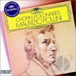 Chopin / Pollini - Chopin: Polonaises CD Cover Art