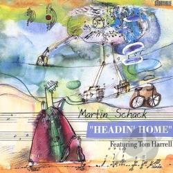 Schack, Martin - Headin' Home CD Cover Art