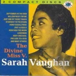 Vaughan, Sarah - Divine Miss V CD Cover Art