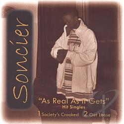 Soncier - As Real As It Gets CD Cover Art