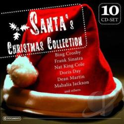 Santa's Christmas Collection CD Cover Art