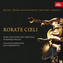Collegium Marianum - Rorate Coeli: Music for Advent and Christmas in Baroque Prague CD Cover Art