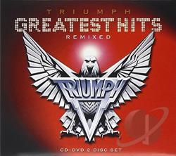Triumph - Greatest Hits: Remixed CD Cover Art