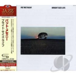 Metheny, Pat - Bright Size Life CD Cover Art