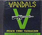Vandals - When In Rome Do As The Vandals Do/Peace Thru Vandalism CD Cover Art