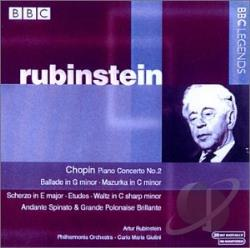 Rubinstein, Arthur - BBC Legends: Rubinstein CD Cover Art