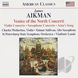 Aikman / Sullivan / Wetherbee - James Aikman: Venice of the North Concerti CD Cover Art