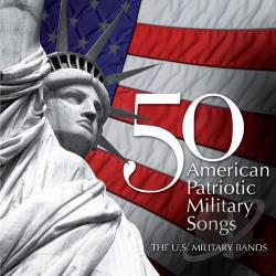 Berlin / Key / Sousa / U.S. Coast Guard Band - 50 American Patriotic Military Songs CD Cover Art