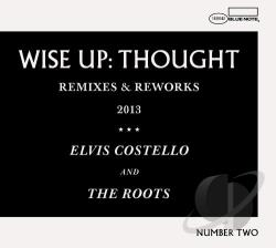 Costello, Elvis / Roots - Wise Up Ghost Remix EP LP Cover Art