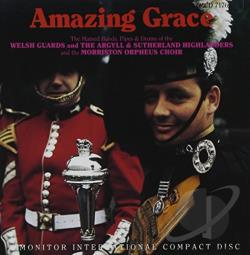 Welsh Guards - Amazing Grace CD Cover Art