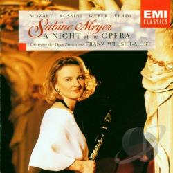 Meyer, Sabine - Night At The Opera CD Cover Art