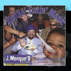 J.Monque'D - Chitlin Eating Music CD Cover Art