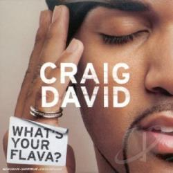 David, Craig - What's Your Flava CD Cover Art