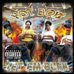 Hot Boys - Let 'Em Burn CD Cover Art